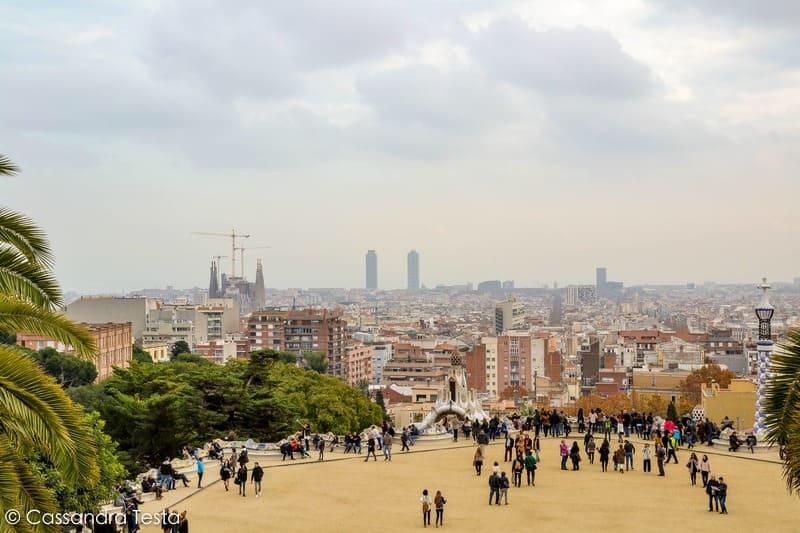 Piazza principale di Parco Güell, Barcellona