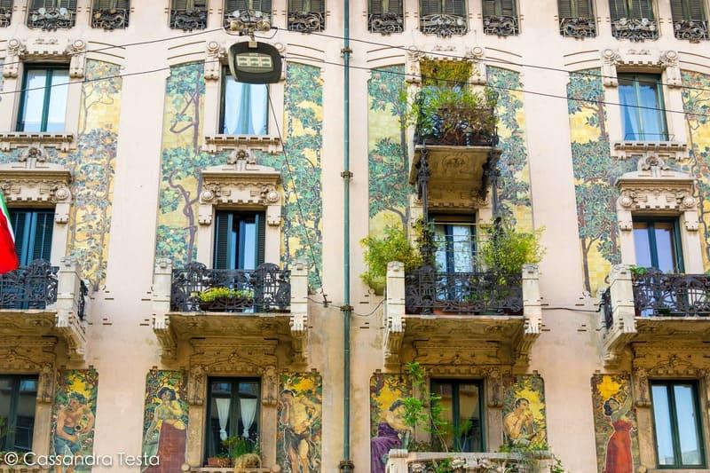 Casa Galimberti, Milano