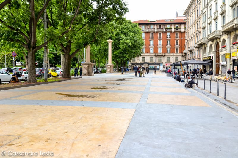 Piazza Oberdan, Milano