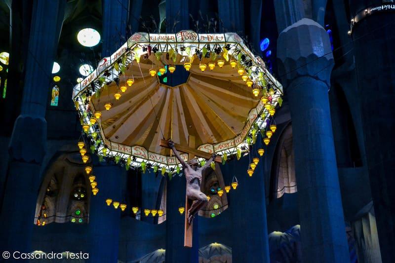 L'altare de La Sagrada Familia