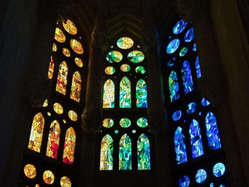 Le vetrate colorate