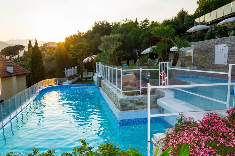 Piscina delle Cascate - Villa Giada Resort