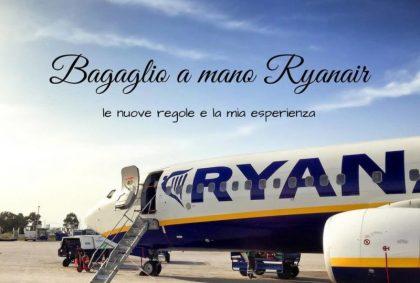 Bagaglio a mano Ryanair: le nuove regole e la mia esperienza