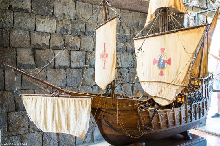Nave di Cristoforo Colombo,Piramidi di Guimar, Tenerife