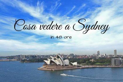 Cosa vedere a Sydney in 48 ore