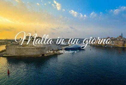 Malta in un giorno