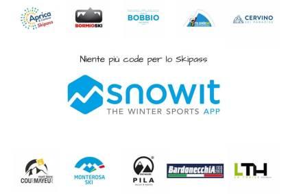 Snowit, niente più code per lo skipass