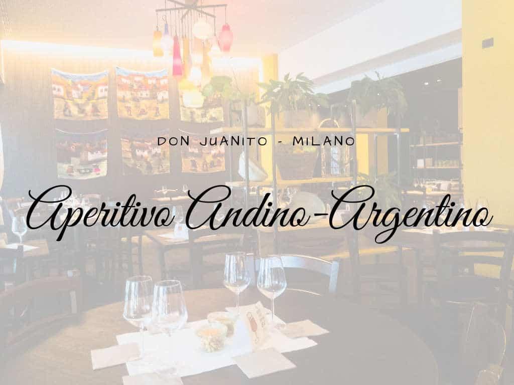 Aperitivo Andino-Argentino