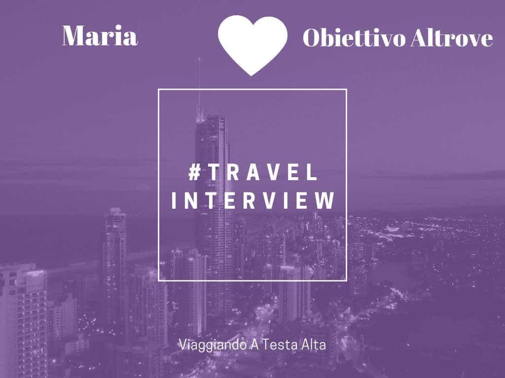 Travel Interview Maria
