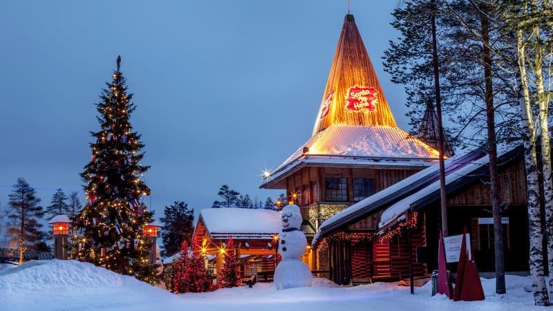 Santa Claus a Rovaniemi