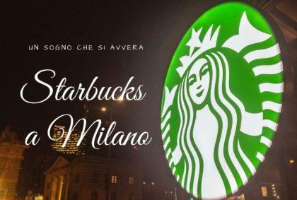 Starbucks a Milano, un sogno che si avvera