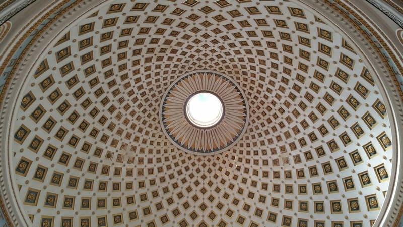 Cupola della Chiesa di Mosta, Malta