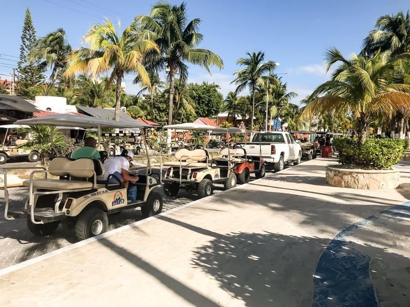 Golf Cart, Isla Mujeres