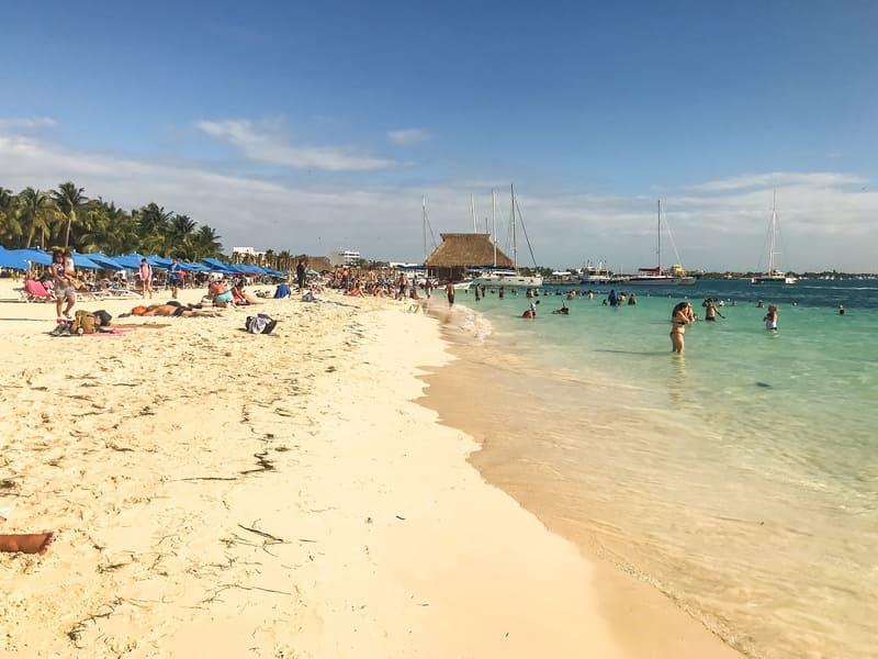 Playa Centro, Isla Mujeres