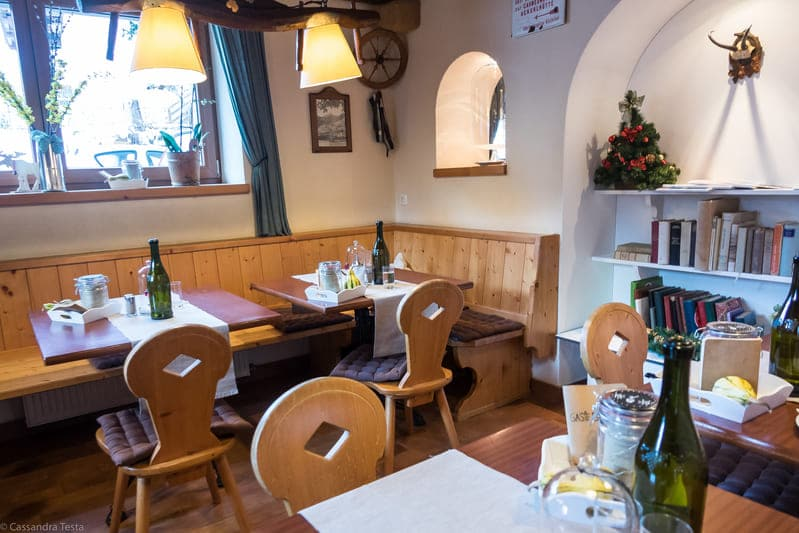 Sala colazione, Haus Alpenblick