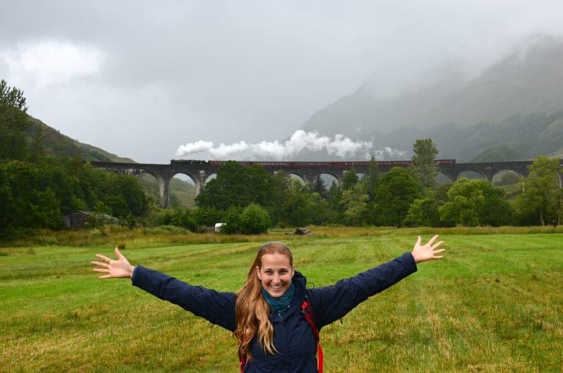 Glenfinnan Viaduct - Scozia - agosto 2017