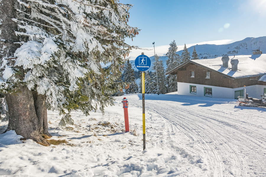 Passeggiate sulla neve a KitzSki