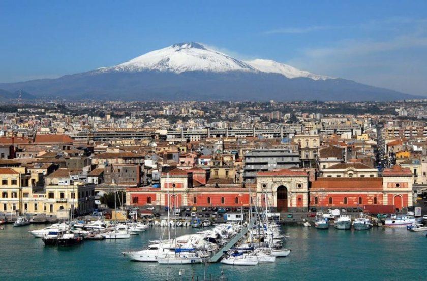 Catania e Etna