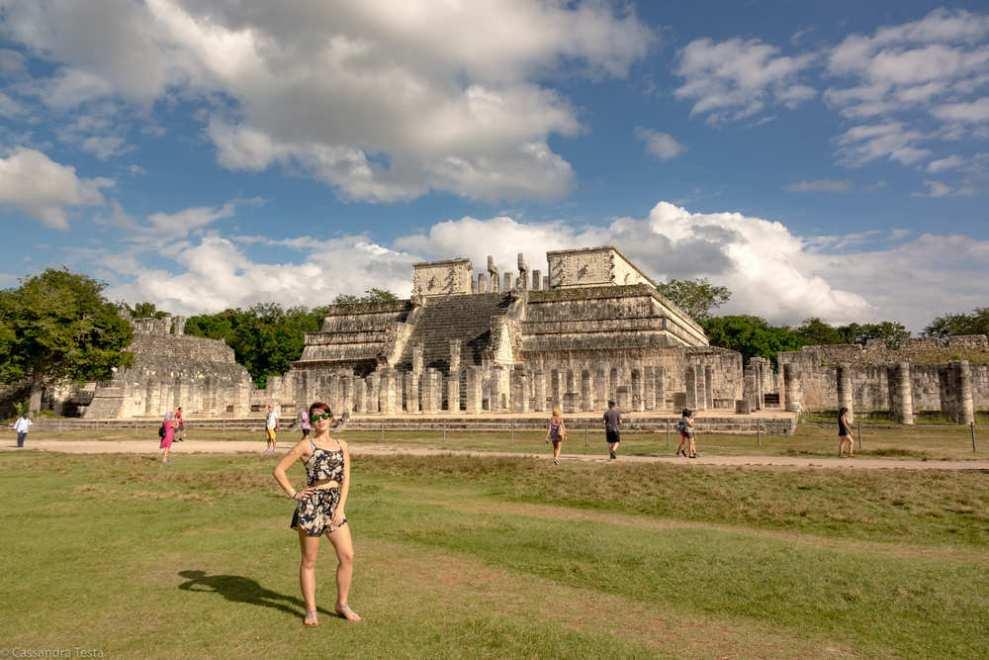 Eccomi al Tempio delle 1000 Colonne