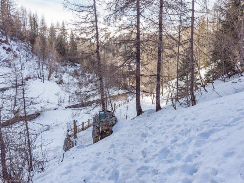 Sentiero per Cascata del Groppera