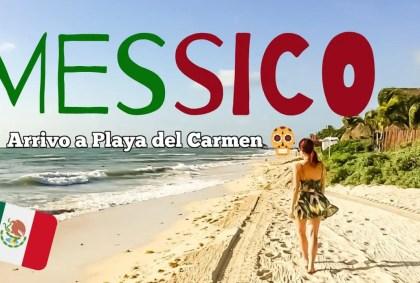 PLAYA DEL CARMEN: aereo, scalo, hotel e spiaggia – MESSICO DAY 1 [VIDEO]