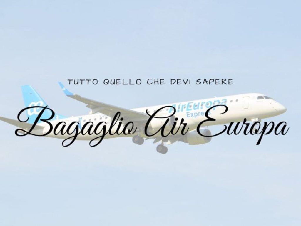 Bagaglio Air Europa