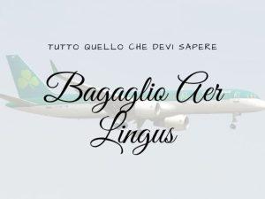 Bagaglio Aer Lingus
