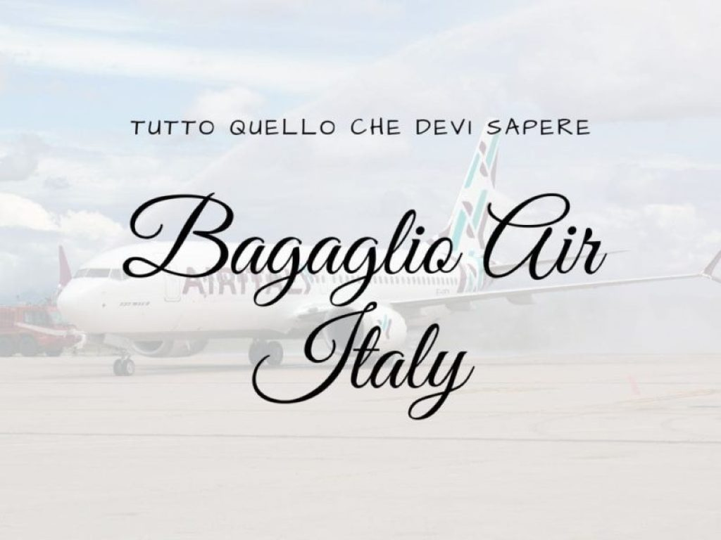Bagaglio Air Italy