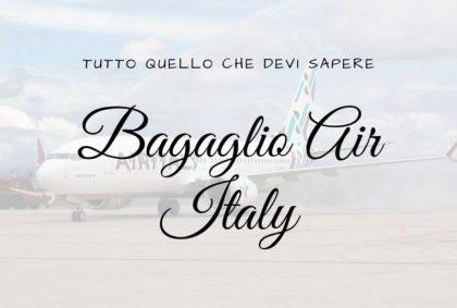 Bagaglio Air Italy: tutto quello che devi sapere