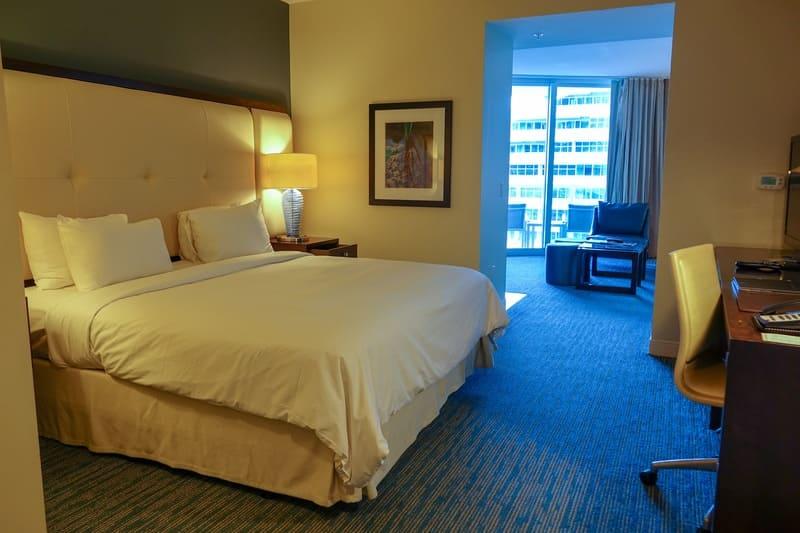 Vista Junior Suite Hilton Beach Resort Fort Lauderdale