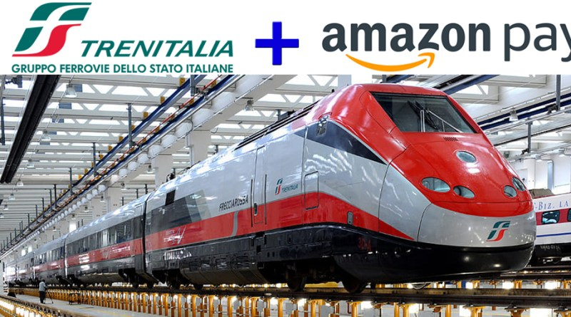 Biglietti dei treni con Amazon Pay