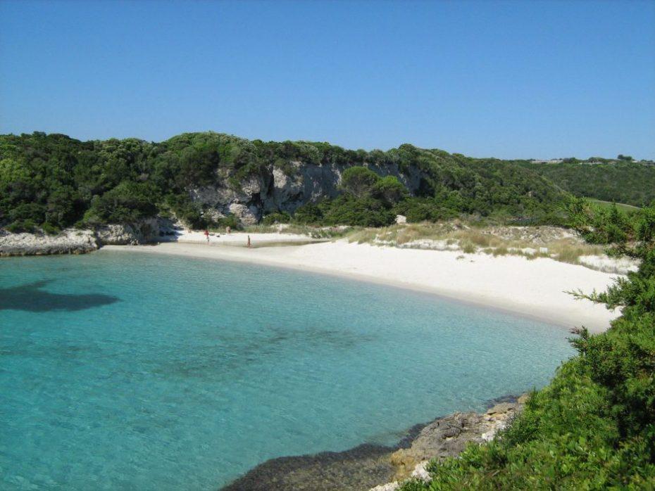 spiaggia petit sperone corsica del sud