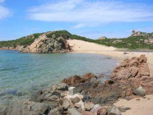 monte di rena spiaggia la maddalena