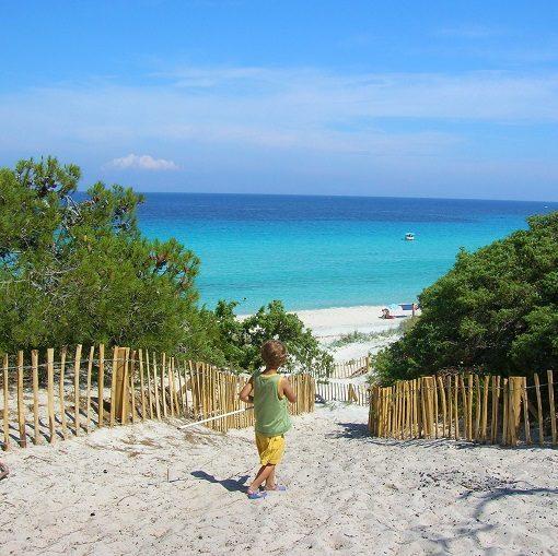 spiaggia la saleccia corsica nord