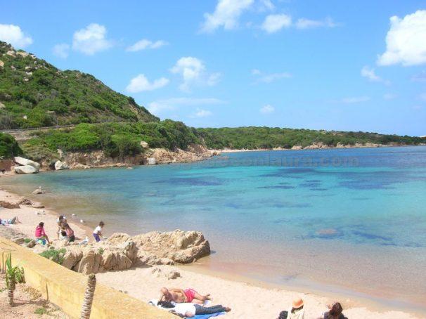 spiaggia spalmatore isola la maddalena
