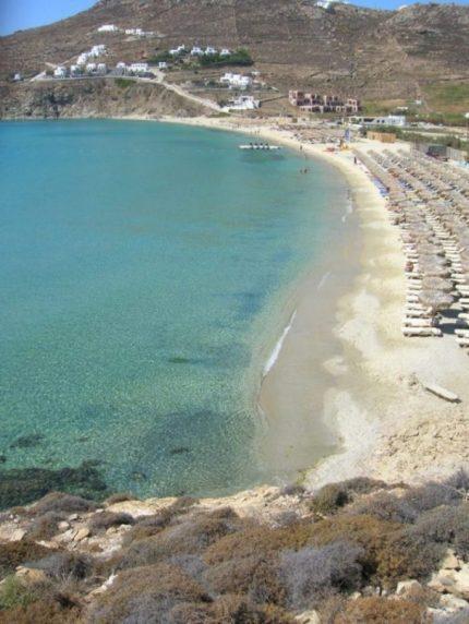 spiaggia kalo livadi mykonos