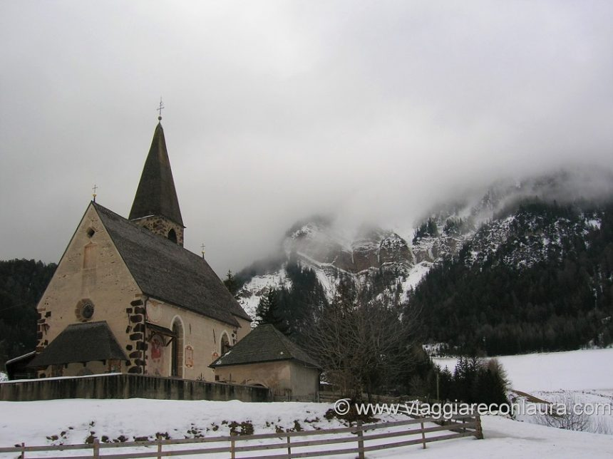 val di funes chiese