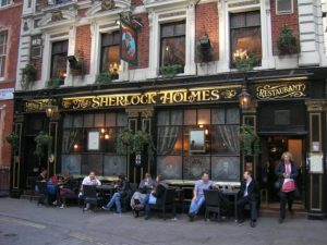 the sherlock holmes pub londra