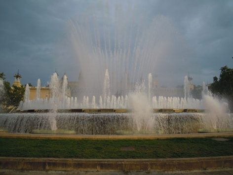montjuic fontana magica barcellona