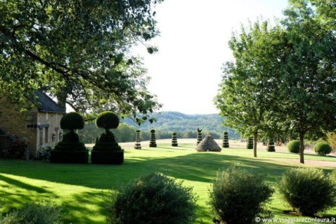 dordogna perigord noir jardins eyrignac
