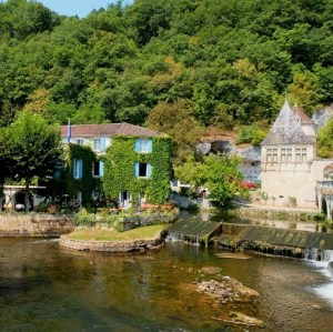 brantome moulin de l'abbaye