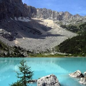 lago sorapiss rifugio vandelli