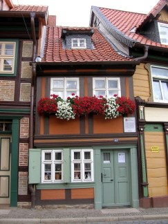 the smallest house wernigerode
