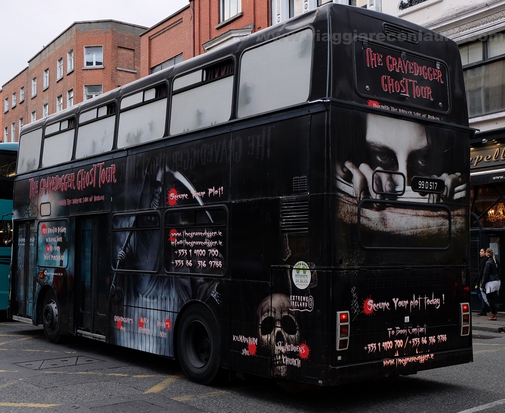 ghost bus tour dublin