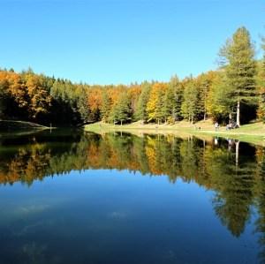 lago della ninfa sestola appennino
