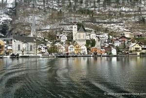 hallstatt vista dal ferry