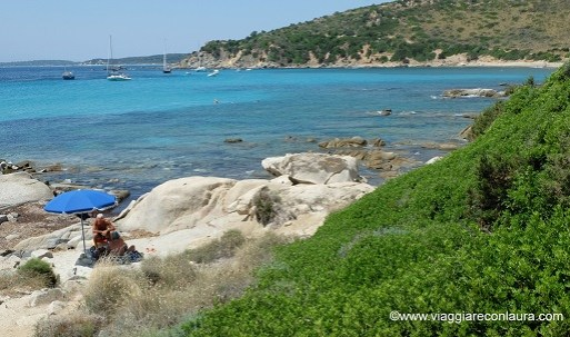spiaggia di punta molentis sardegna sud