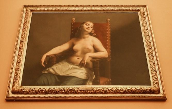 Morte di Cleopatra, Guido Cagnacci (Pinacoteca di Brera)