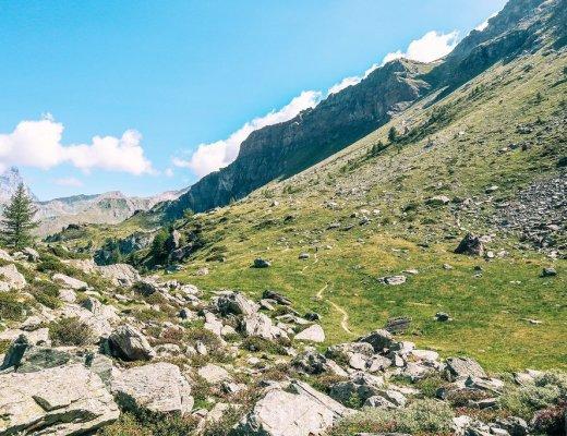 Gran Balconata del Cervino, passeggiata