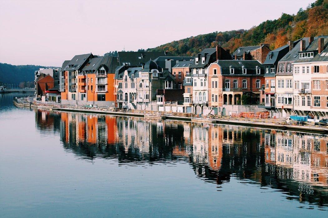 Dinant, Vallonia, Belgio